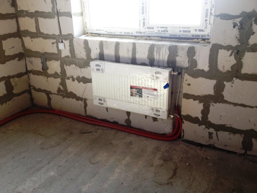 Снятие установка радиатора